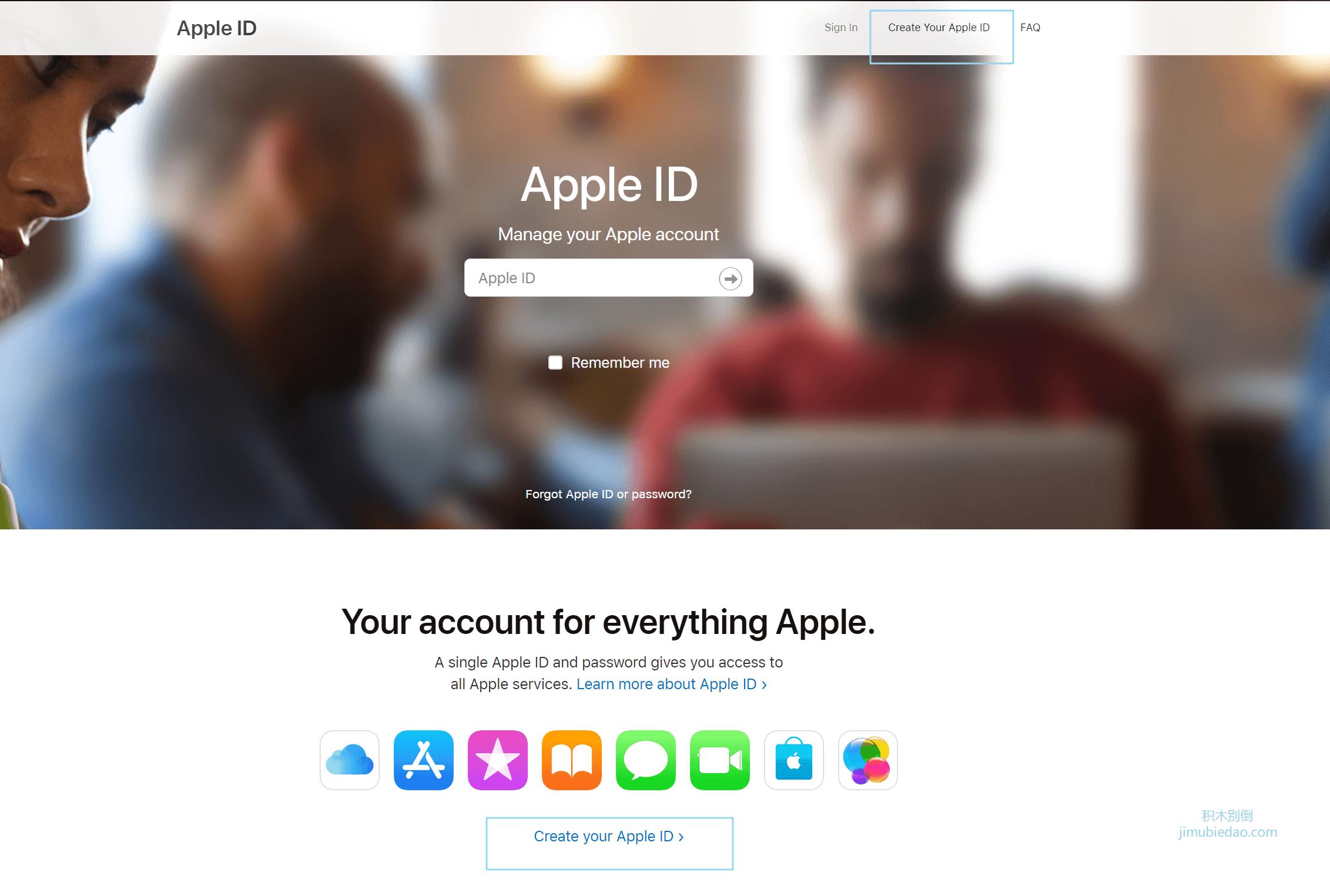 创建美区apple id第一步