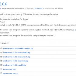 Surge Snell v2 正式版服务器一键搭建及使用教程